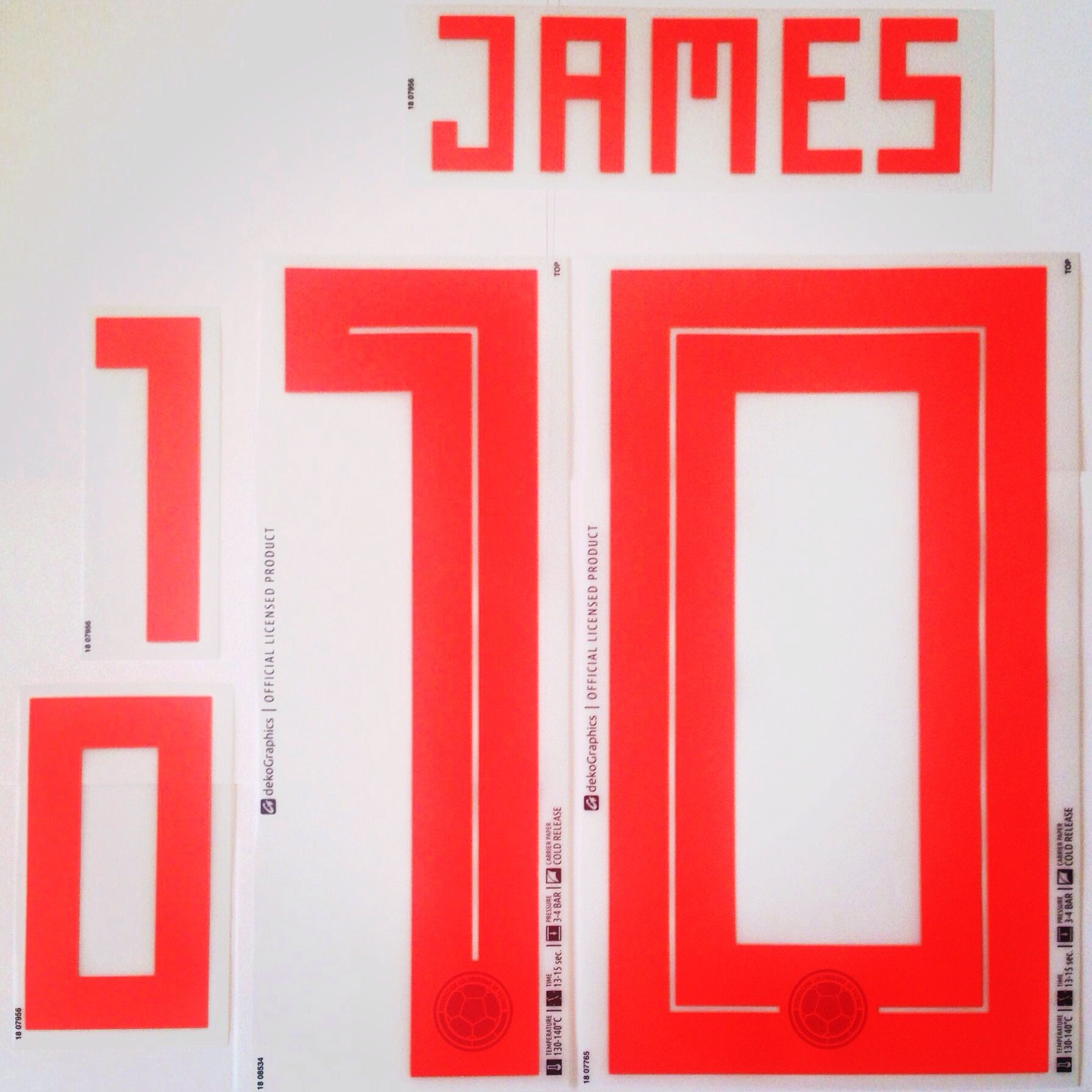 sports shoes 09ad8 61253 Colombia WORLD CUP 2018 Away Shirt 2018-19 JAMES 10 Adidas ...